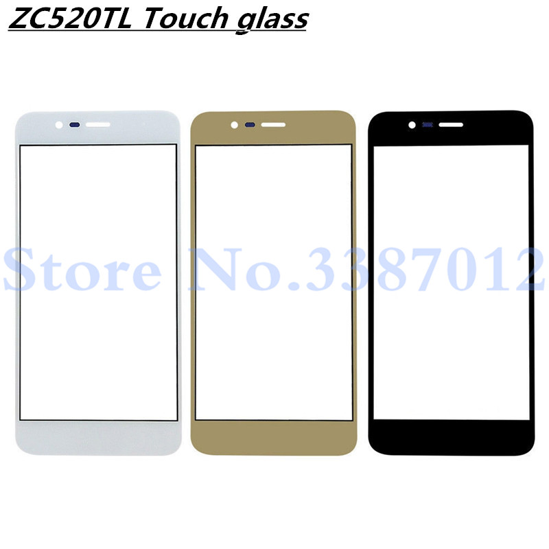 5.2inch Front Lens For <font><b>ASUS</b></font> <font><b>Zenfone</b></font> 3 Max ZC520TL <font><b>X008D</b></font> Outer <font><b>Glass</b></font> Screen Replacement Parts image