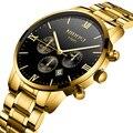 NIBOSI  роскошные Брендовые мужские часы  2019  полностью стальные мужские часы  золотые часы  мужские спортивные водонепроницаемые часы  Relogio ...