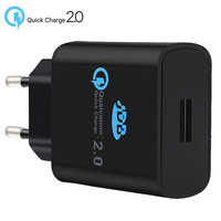 Original For Qualcomm Quick charge 2.0 EU Wall USB Charger For samsung For iPhone Universal Fast Travel Charger For XIAOMI SONY