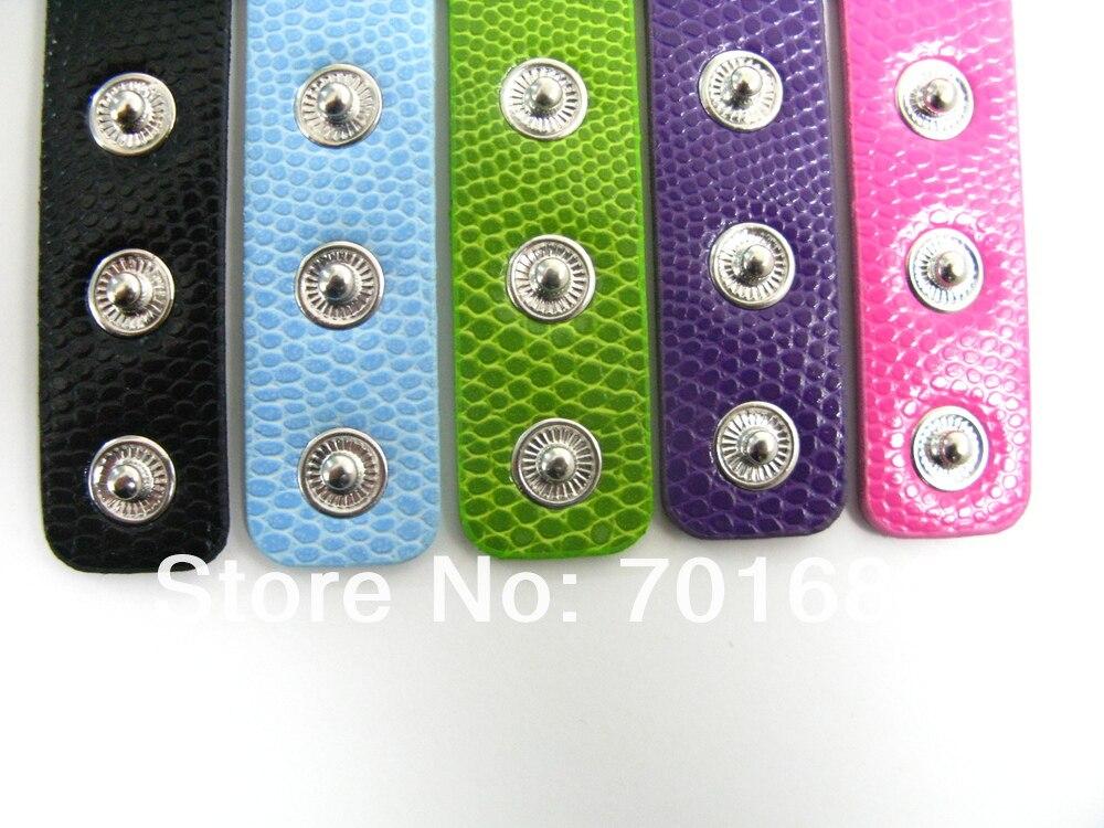 50strips18mm ширина 210 мм длина с 8 мм небольшой пояс из искусственной кожи браслет DIY Интимные аксессуары может через 8 мм слайд буквы подвески