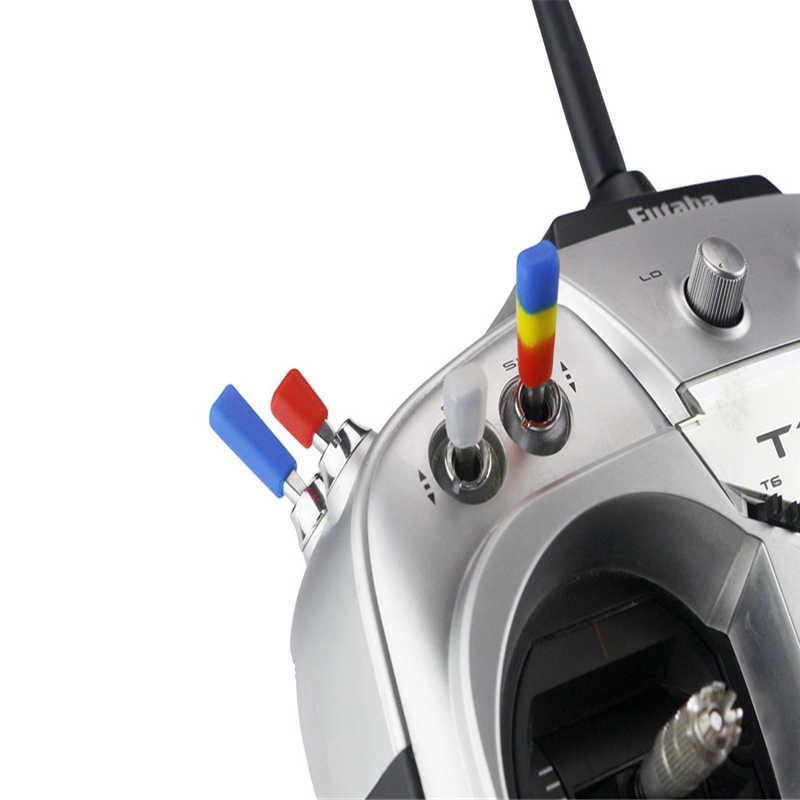 10/20 шт. LDARC резиновые анти-скольжения палка переключатель Кепки для Frsky X9D плюс Flysky радио JR запасная часть передатчика Запчасти аксессуары