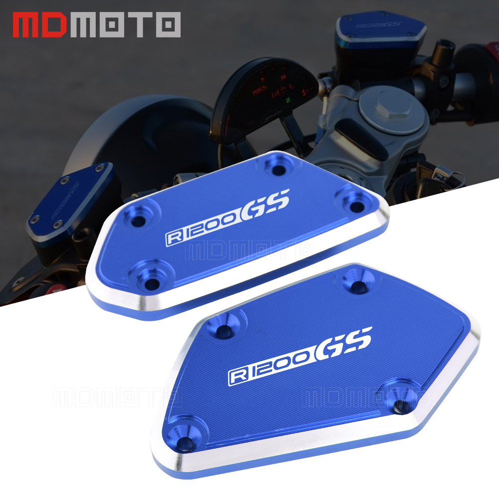 Motorcycle Accessories Front Brake & Clutch Reservoir Fluid Tank Cap Cover For BMW R1200GS adv 2012 2013 2015 2016 2017 hot sell cnc aluminum motorcycle front brake fluid reservoir tank cap cover for kawasaki z800 2013 2014 2015 er6n er6f ver