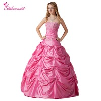 Alexzendra Pink Sweetheart Appliqued Ball Gown Quinceanera Dresses for Girls Gorgeous Quinceanera Dresses Plus Size