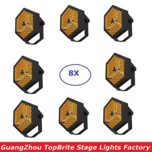 Free Shipping Retro Flash Lights High Quality 3X300W Halogen Lamps Flat Par DJ Wash Light Stage Uplighting KTV Disco