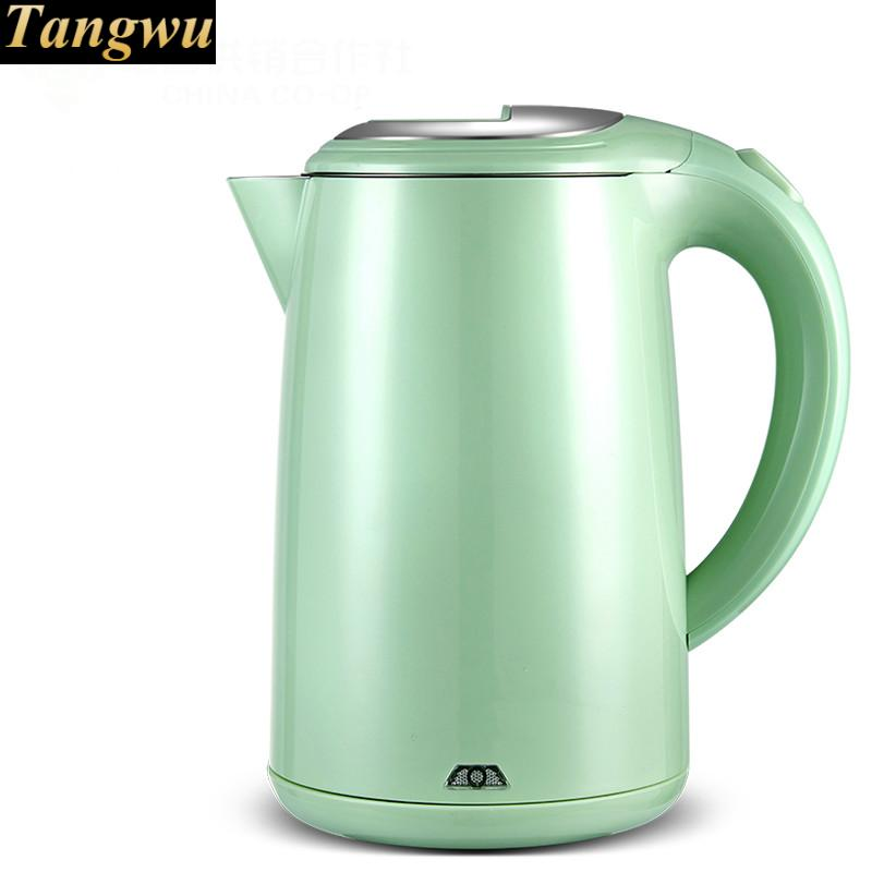 electric kettle USES 304 food grade stainless steel automatic power off free shipping automatic electric food grade 304 stainless steel electric kettle hot insulation automatic prevent parch