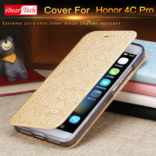 Honor 4C PRO case flip mofi cover for huawei luxury leather case fundas Honor 4Cpro coque original accessories thin protection