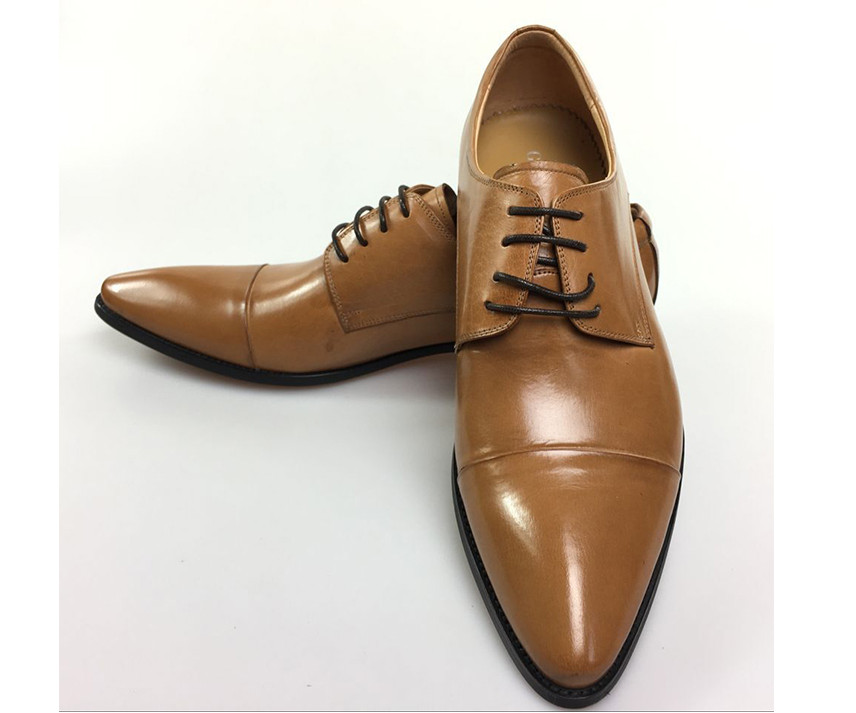 real leather pointed toes shoes men wedding black lace up formal business mens dress shoes genuine leather shoes male flat shoes hot sale mens genuine leather cow lace up male formal shoes dress shoes pointed toe footwear multi color plus size 37 44 yellow