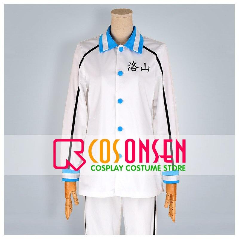 COSPLAYONSEN Kuroko's Basketball Rakuzan High Sportswear Seijuro Akashi Cosplay Costume