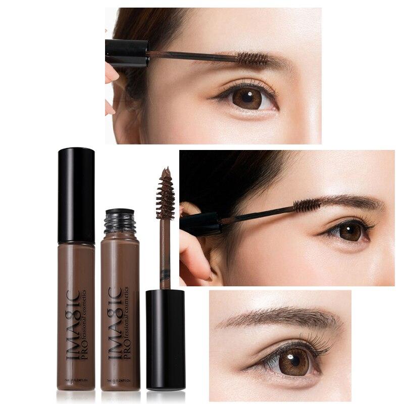 IMAGIC Značka 24Hours Dlouhá s kartáčovými řasami Oční krémová tužka na obličej Makeup Shade for Enhancer obočí