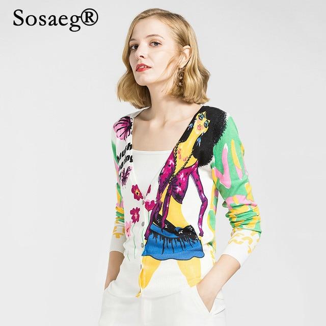 2a5715ab9336 Sosaeg-Female-cardigan-Fashion-Girl-Printing-V-Lead-Knitting -Loose-Coat-2018-Autumn-Clothing-tops-women.jpg_640x640.jpg