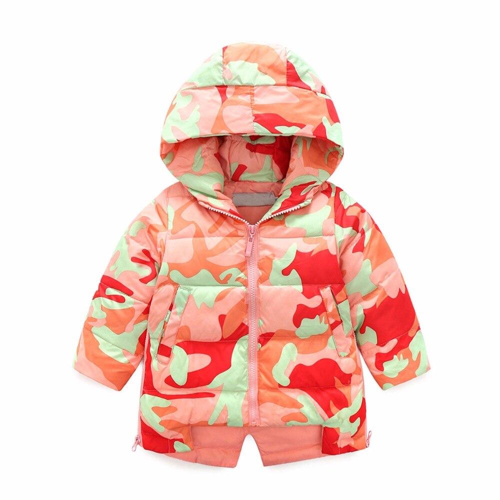 FYYIYI2018Children's down jacket thick warm in the long camouflage down jacket fyyiyi2018children s down jacket thick warm in the long camouflage down jacket