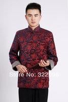Shanghai Geschichte Chinesischen traditionellen Jacke Rot tang-anzug kleidung stehkragen Samt stoff chinesischen heiraten jacke