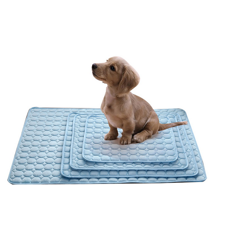 hoomall summer cooling mats blanket ice pet dog bed sofa portable tour camping yoga sleeping. Black Bedroom Furniture Sets. Home Design Ideas