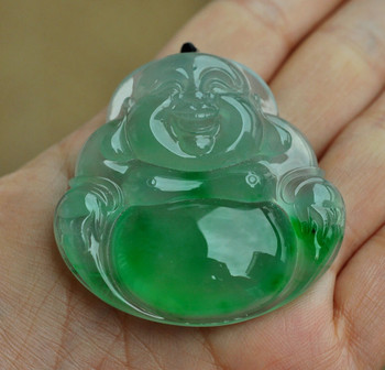 Fine jewelry, female male natural stone Buddha  pendant/