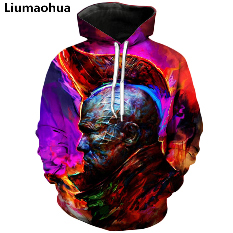 Liu Maohua new hoodie men 39 s and women 39 s sweatshirt Galaxy guard 3D printing hooded round neck fashion hip hop pullover in Hoodies amp Sweatshirts from Men 39 s Clothing
