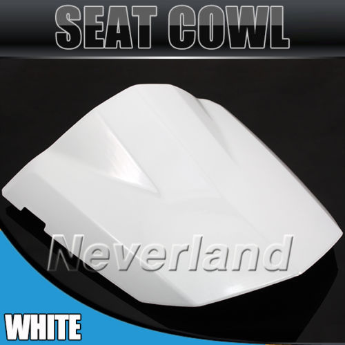 Hot sale Motorcycle Rear Seat Cover Cowl For Suzuki GSXR GSX-R 600 750 K4 2004-2005 04 05 White #70C20 Wholesale hot sale hot sale car seat belts certificate of design patent seat belt for pregnant women care belly belt drive maternity saf