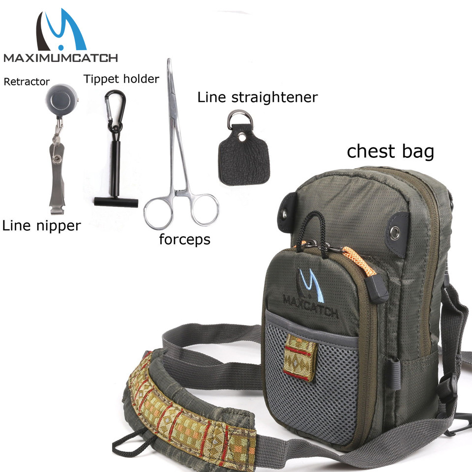 Image 2 - Maximumcatch Fly Fishing Bag Fishing Chest Pack Fishing Backpack With Fishing Tool Accessorybag fishingfly accessoriestool fly -