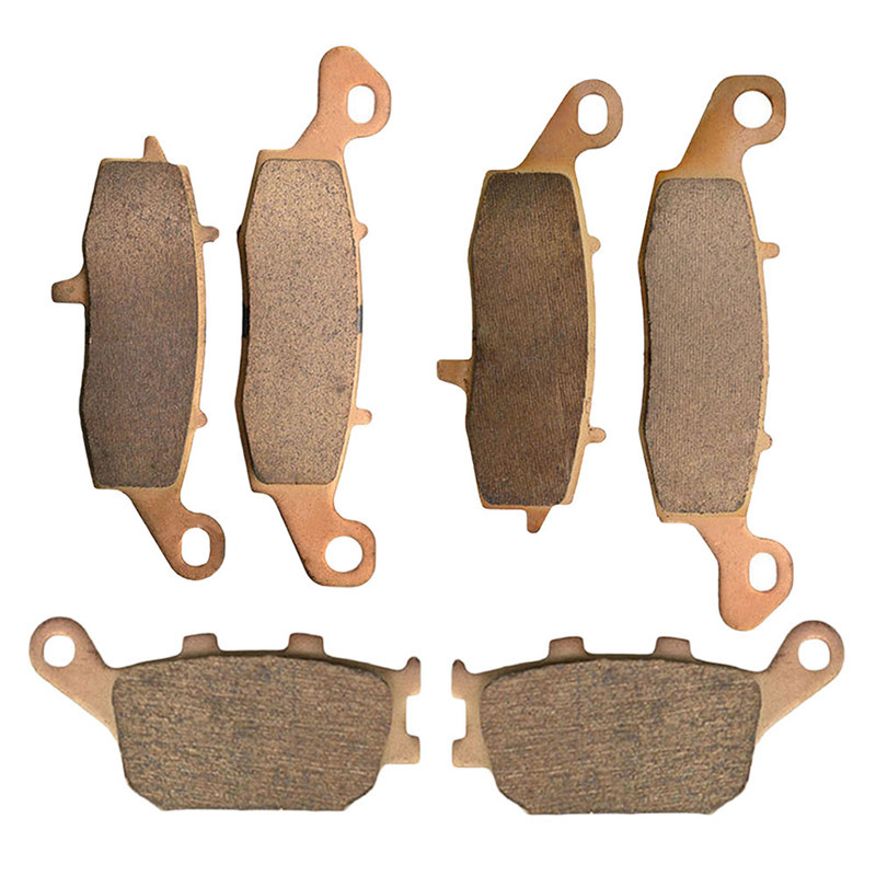 Motorcycle Parts Copper Based Sintered Motor Front & Rear Brake Pads For Suzuki DL650 DL 650 2004-2013 Brake Disk