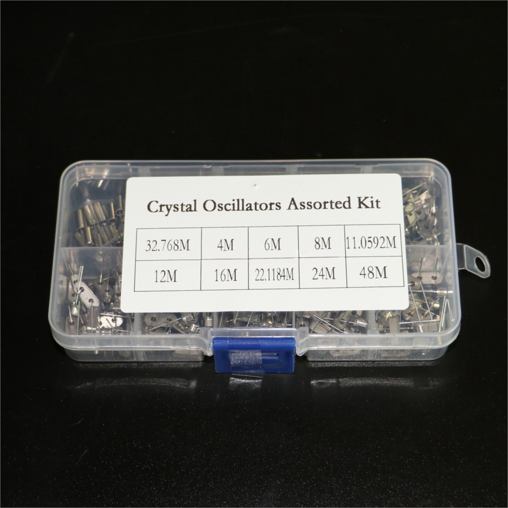 HC-49s Crystal Oscillator Kit Resonator Ceramic Quartz Resonator 32.768KHz 4MHz 6MHz 8MHz 12MHz 16MHz 24MHz 48MHz Diy Electronic
