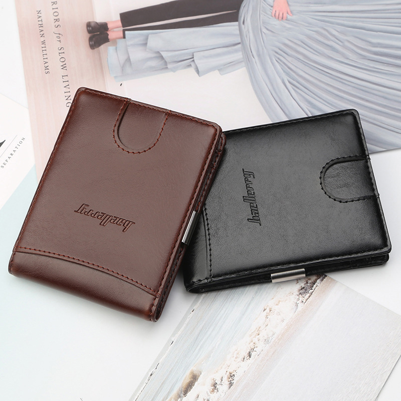 2018 New products Men Money Clip Mini Wallets
