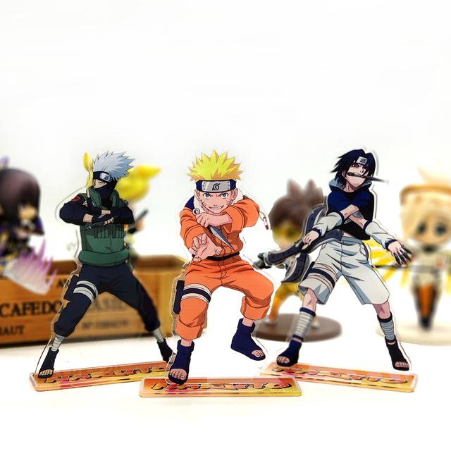 Naruto Sasuke Kakashi Acrylic Stand Figure