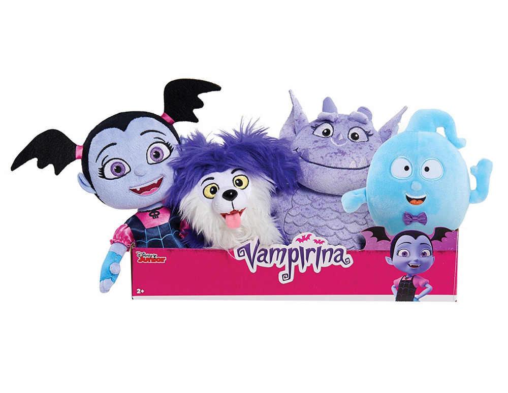 Cute Vampirina Plush Toy Vampirina Girl Wolfie Dog Gregoria Demi Stuffed Animals Kids doll Toy Gift