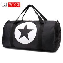 New Fashion Nylon Waterproof Travel Bags Large Size Star sac de voyage Women Travel Tote Duffle Bag Men malas para viagem L467