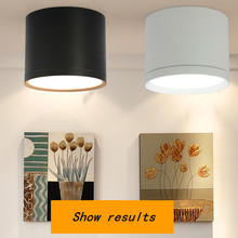 Surface Mounted Ceiling Downlight SMD5730 5W 7W 12W 18W AC85-265V lamp COB Led downlights Ceiling Spot light +led driver