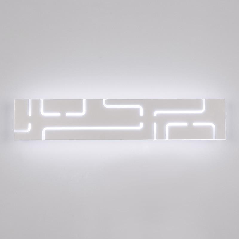 Nordique salle de bains miroir Led lumières pour la décoration de la maison luminaire cuisine moderne mur Led lampes appliques blanc fer acrylique avize