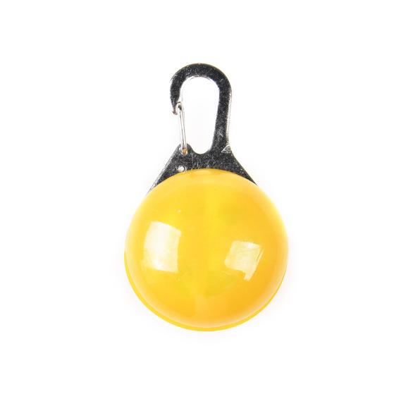 Linterna de luz LED para el cuello de tu mascota. 4