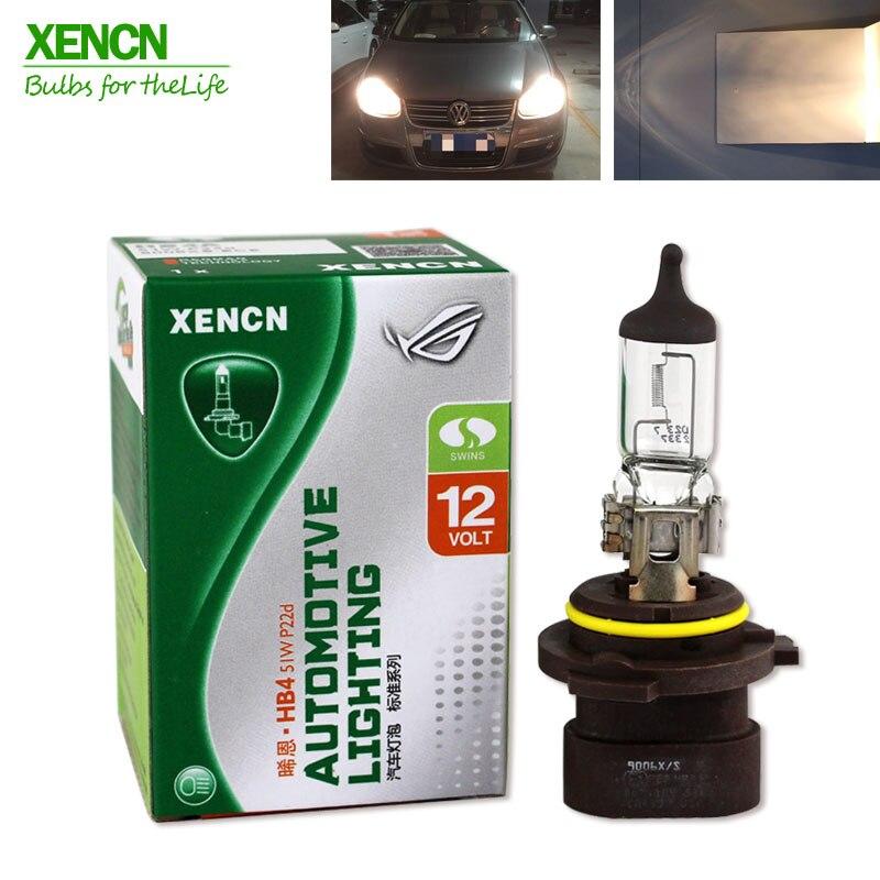 XENCN HB4A 9006XS 12V 51W 3200K P22d Clear Series Original Car Headlight High Quality Halogen Bulb Auto Lamps Long Lifetime 2pcs