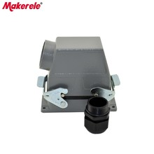 MK-HE-016-1H Used in outdoor high voltage heavy duty multi pin quick connector get covered to measure high cover