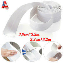 New Sells Bathroom Bath or Wall Sealing Strip Self Adhesive Tape Sink Basin Edge Waterproof Kitchen