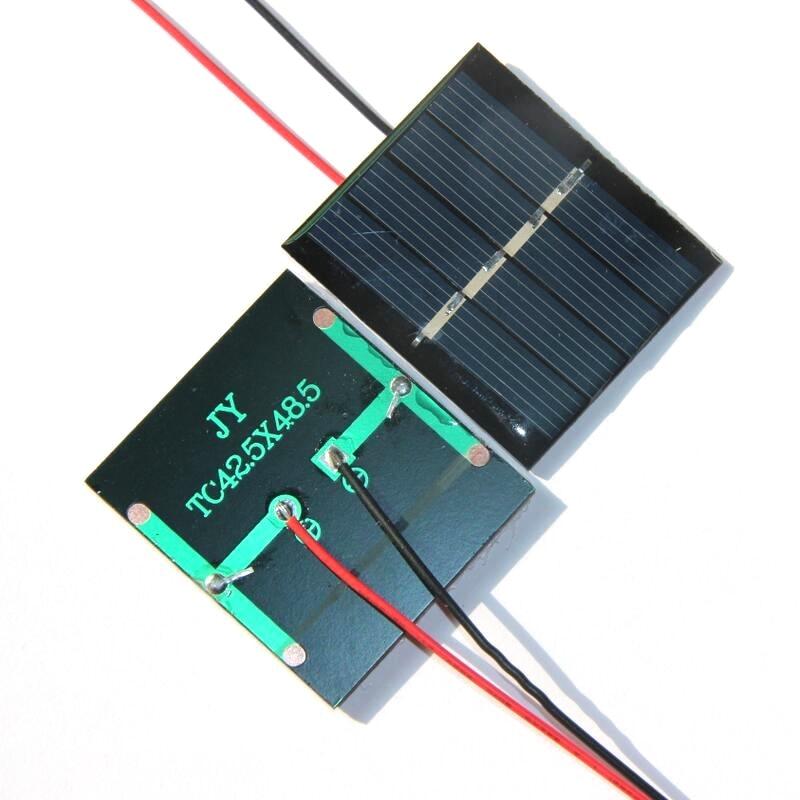 W 2 V Mini Célula Solar Com