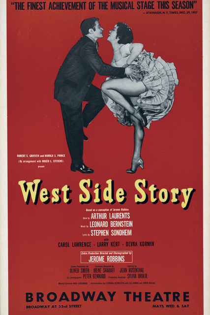 Movie Posters Vintage Print Art Modern Decorative Scenery Film Picture West Side Story Dancing