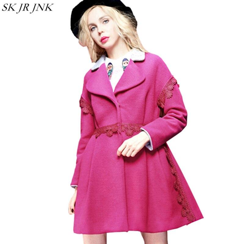 3252e812834181 Trench Chaud Gjl18 Femme Manteau Blue De Stitchi Cachemire En Veste Mode  D hiver Femmes Outwear ...