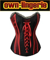 Sexy vintage steampunk corset ,mature womens black and red design corset size S,M,L,XL,XXL free shipping and drop shipping
