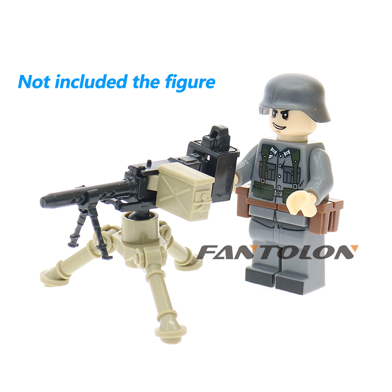 MOC WW2 military weapons accessories MK21 MK153 GUNS soldiers toys for children ...
