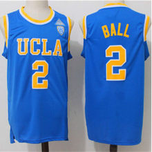 9270918dd73f Cheap mens 2 lonzo ball UCLA Bruins Retro throwback College Basketball  jersey Embroidery stitching(China