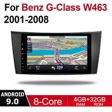 Android Car Multimedia player 2 Din WIFI GPS Navigation Autoradio For Mercedes Benz G Class W463 2001~2008 NTG touch screen WIFI seicane car optical fiber decoder most box bose for 2001 2008 mercedes benz g class w463 g550 g500 harmon kardon audio converter