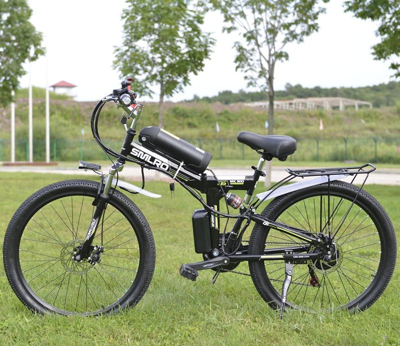 26 pouce Électrique Vélo 48 v 10.8ah Batterie Au Lithium Électrique Vtt 350 w Moteur Pliable Vélo Électrique puissant Vélo Électrique