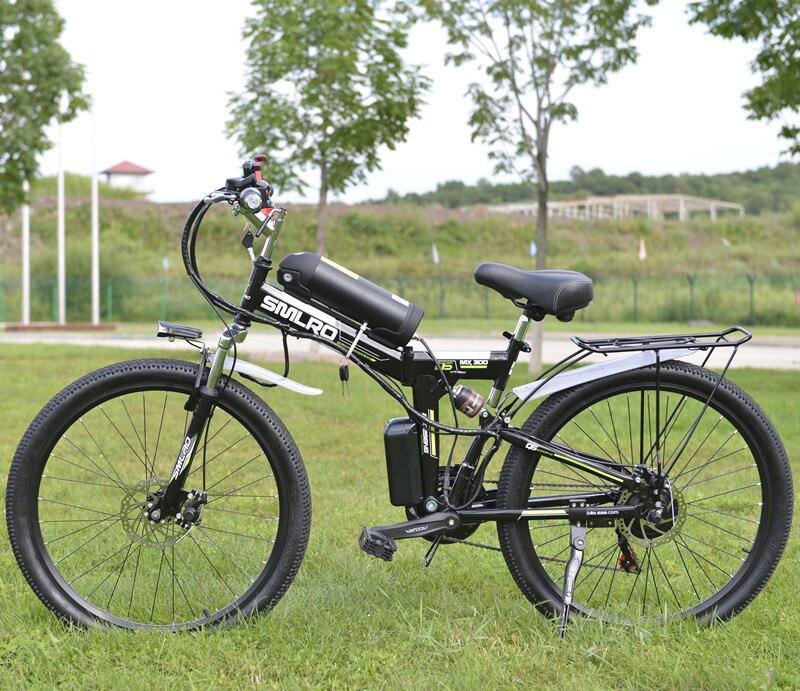 26 zoll Elektrische Fahrrad 48 v 10.8ah Lithium-Batterie Elektrische Mountainbike 350 watt Motor Faltbare EBike leistungsstarke Elektrische Fahrrad