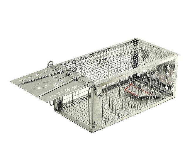 Mice mousetrap hunt rat cage nab metal tin mouse basket - Trampas para ratones vivos ...