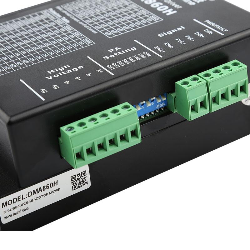 """""""Leadshine Microstep Driver DMA860H"""" žingsninio variklio - Medienos apdirbimo mašinų dalys - Nuotrauka 6"""