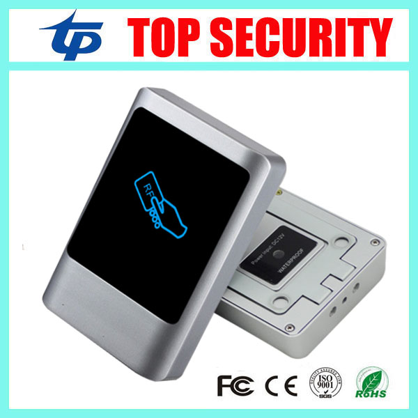 Biometric smart card access control panel standalone 13.56MHZ IC card door access control system IP65 waterproof card reader