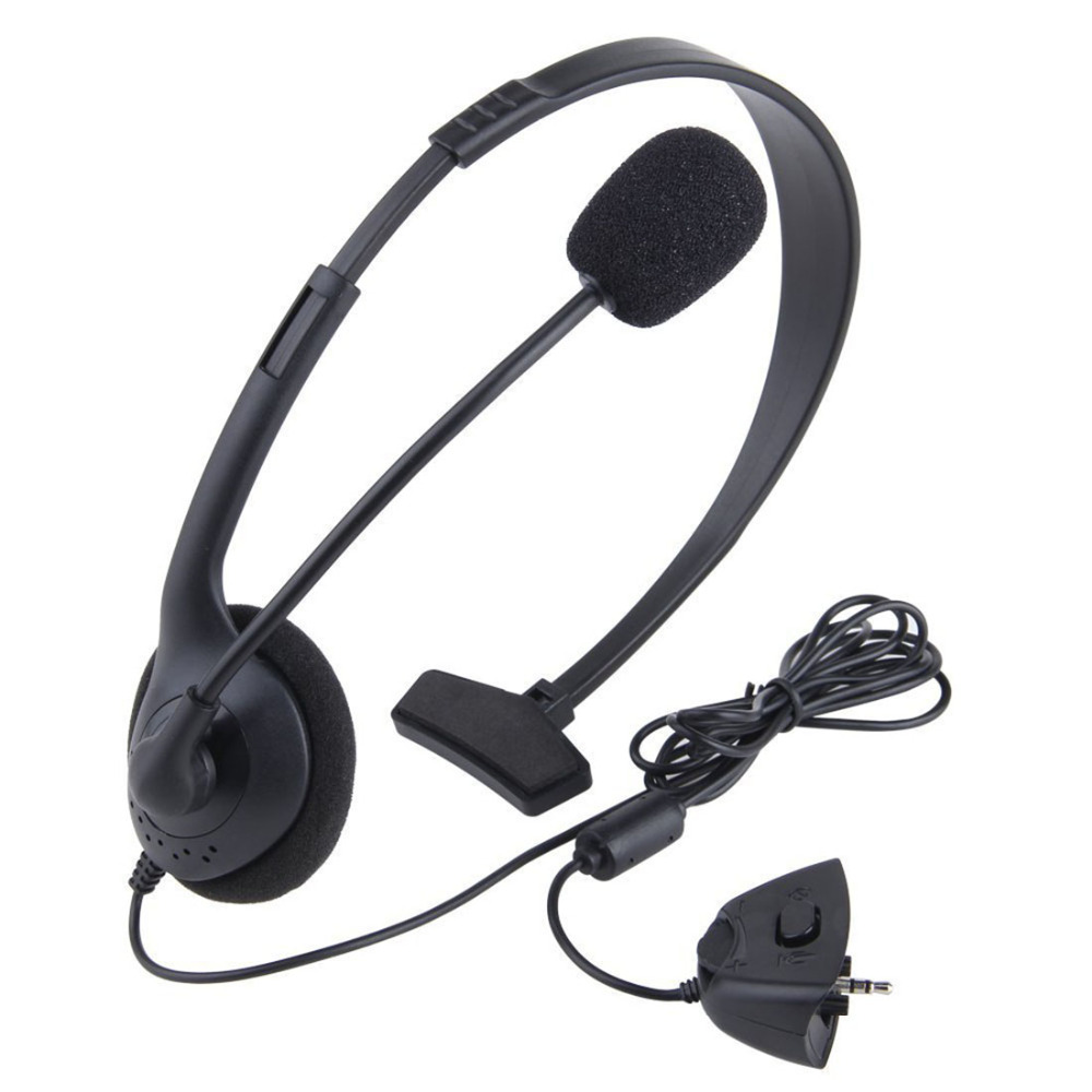 Marsnaska New Black Video Game single ear Headset Headphone earphone with Microphone Mic for Xbox 360 Xbox360 игра для xbox xbox360 xbox360 homefront f13532