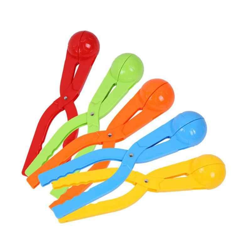 2 шт снежколеп Идеальный открытый зимний игровой игрушки для снега для детей (случайный цвет)