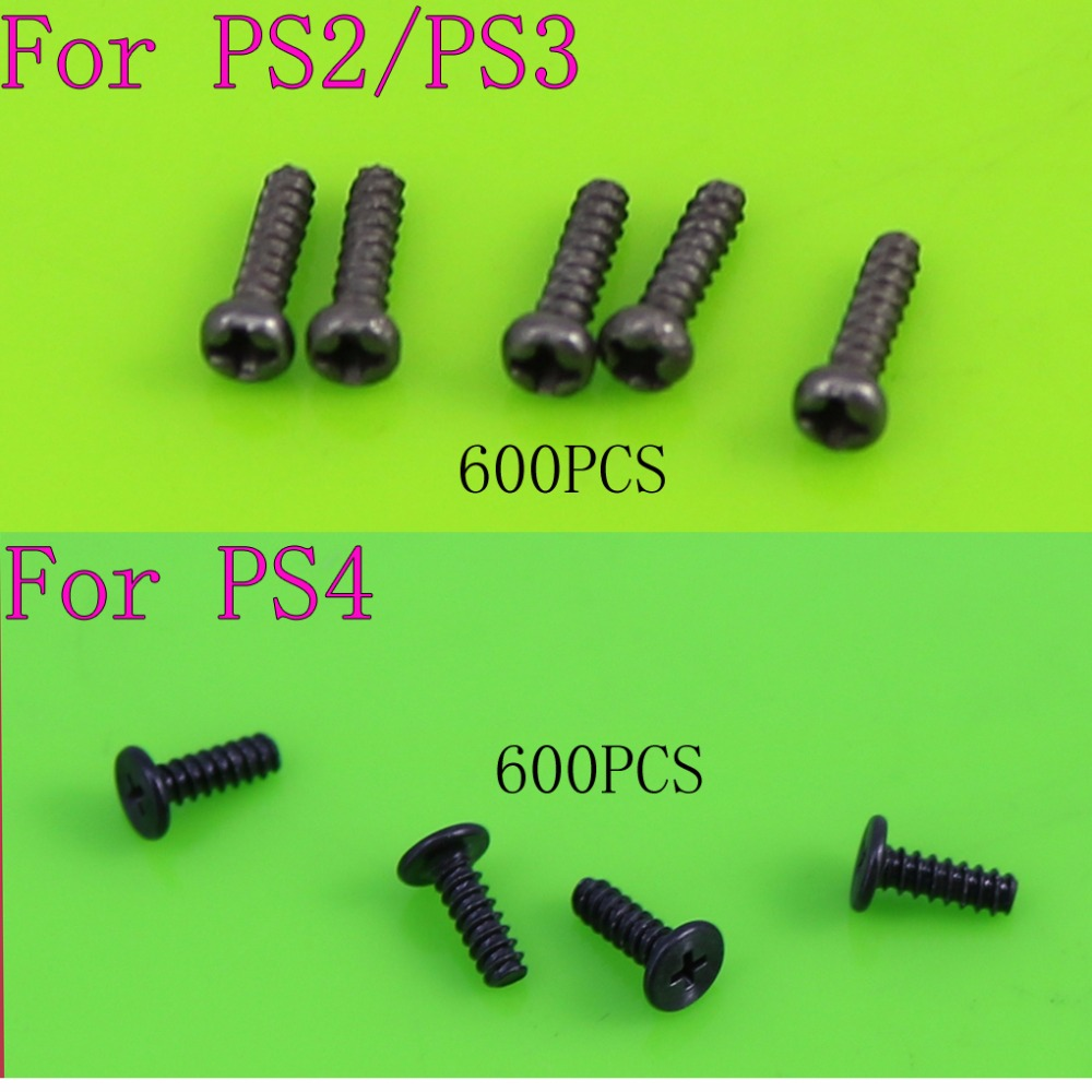 [600PC/ LOT] Wholesale Price For Phillips Head Screws Replacement For PS2 PS3 PS4 Controller