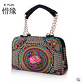 XIYUAN BRAND Exquisite chinese floral vintage womans shoulder indian womens embroidery bag embroidered handbags ethnic