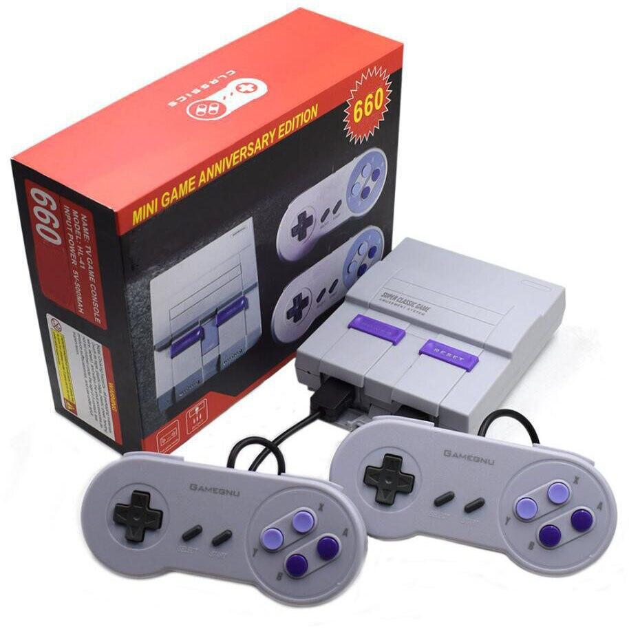Mini consolas de juegos de mano para TV súper clásica 2019 nuevo sistema de entretenimiento 660 consola de juegos envío gratis
